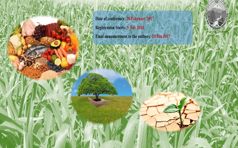 The First International and the Second National Conference on Agriculture, Environment and Food Security